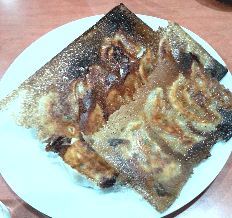 蒲田 香楽園 羽根つき餃子