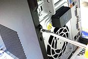 パソコンのHDDをSSDに交換した時の手順4「HDDとSSDの交換取付作業」