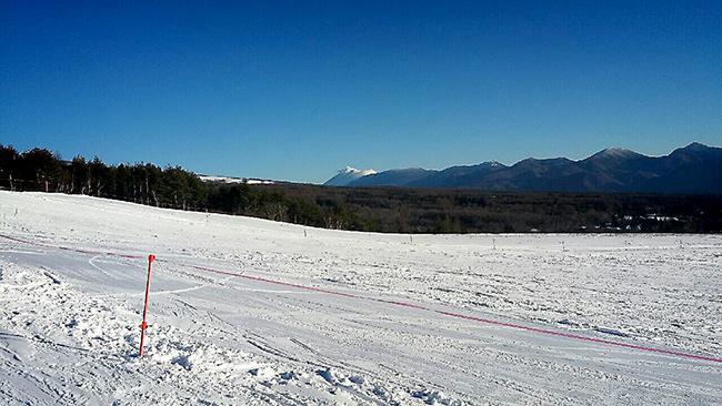 菅平高原 スキー場