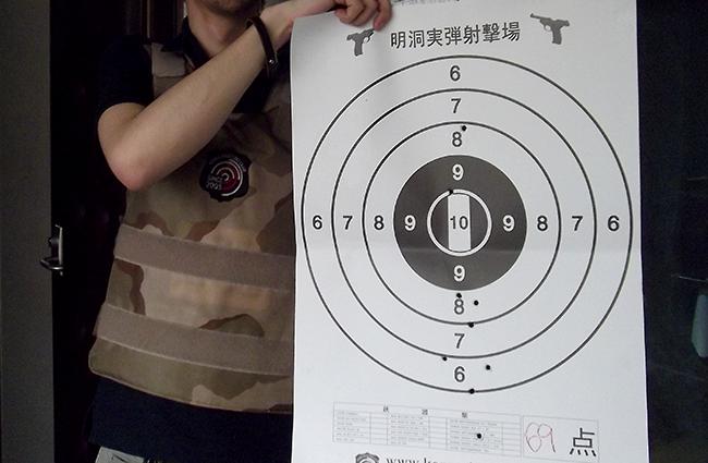 明洞 ミョンドン 拳銃 射撃 実弾4