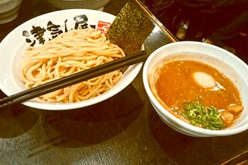 川口のつけ麺「津気屋」の濃厚魚介とんこつがオススメ!