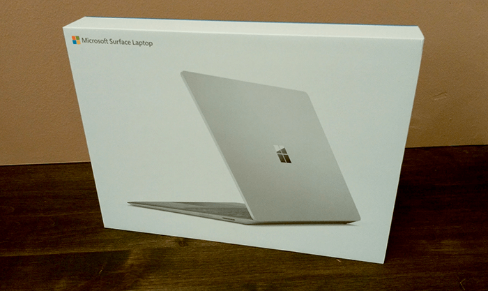 Surface Laptop 開封1