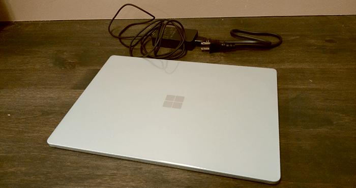 Surface Laptop 開封4