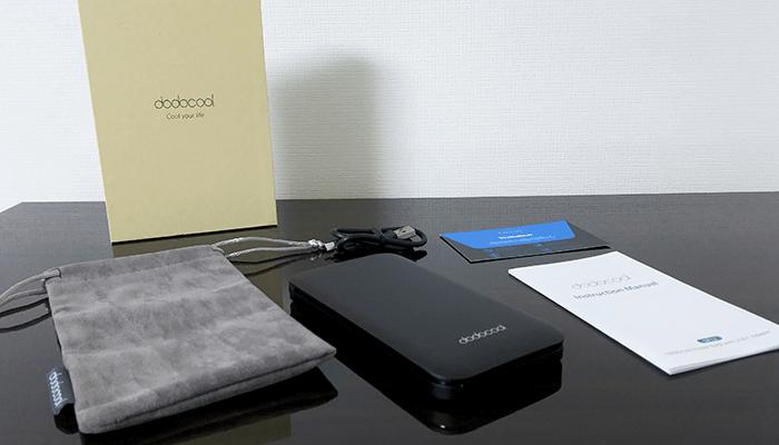 dodocool モバイルバッテリー USB Type-C対応 DP12