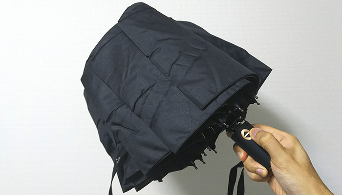 TomShoo 折り畳み傘 ワンタッチ自動開閉 大きい 頑丈