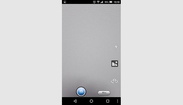 AGPtEK 自撮り棒 アプリ画面