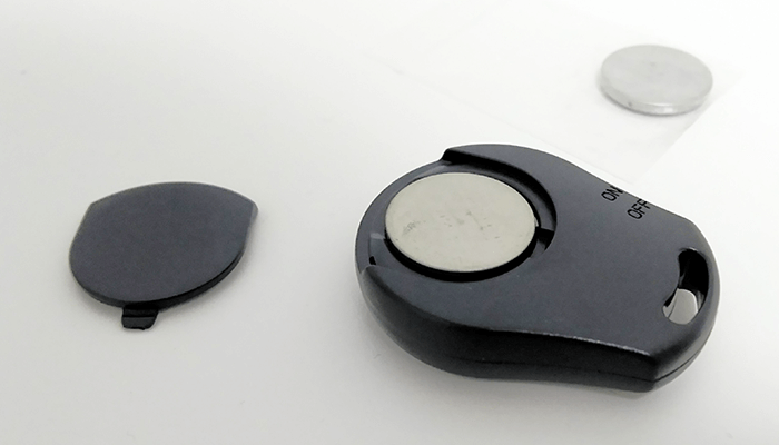 AGPtEK 自撮り棒 リモコン 電池