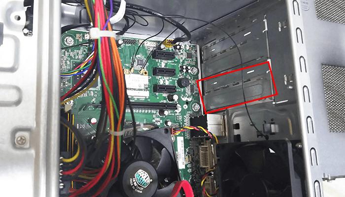 GTX1050 取りつけ 換装 HP pavilion