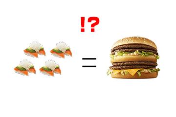 はま寿司のカロリーは「皿4枚でビッグマック相当!?」 ダイエット中は要注意!