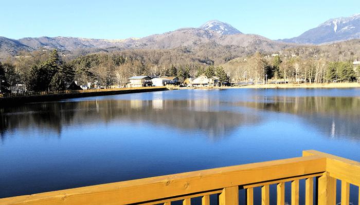 蓼科湖 景色