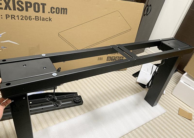FlexiSpot 電動昇降スタンディングデスク 組み立て