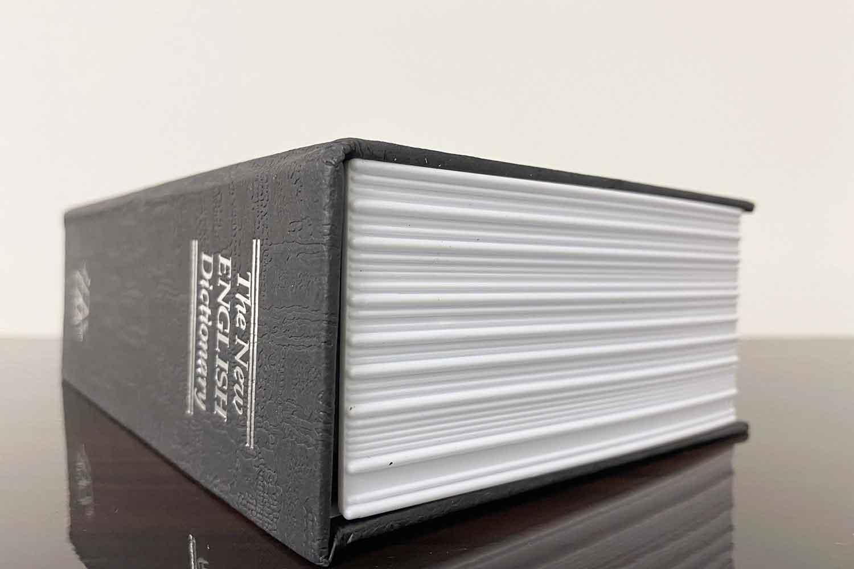 辞書型金庫を使ってみた