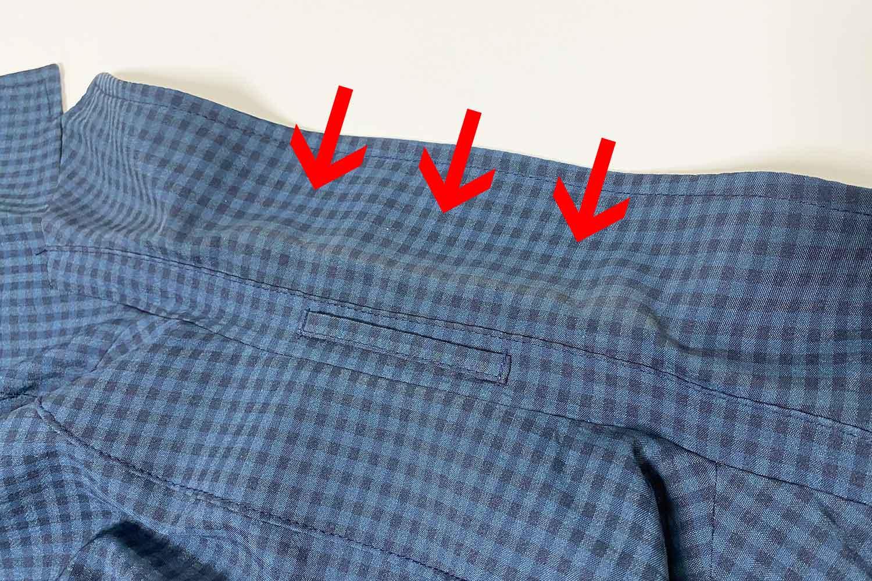ジャケットの襟汚れ 掃除 汚れ取り