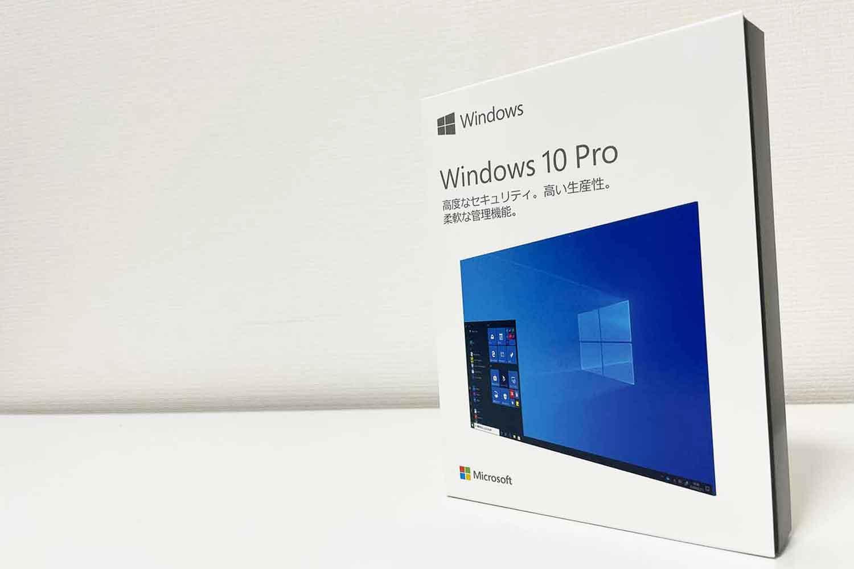 OS Windows10 Pro 箱