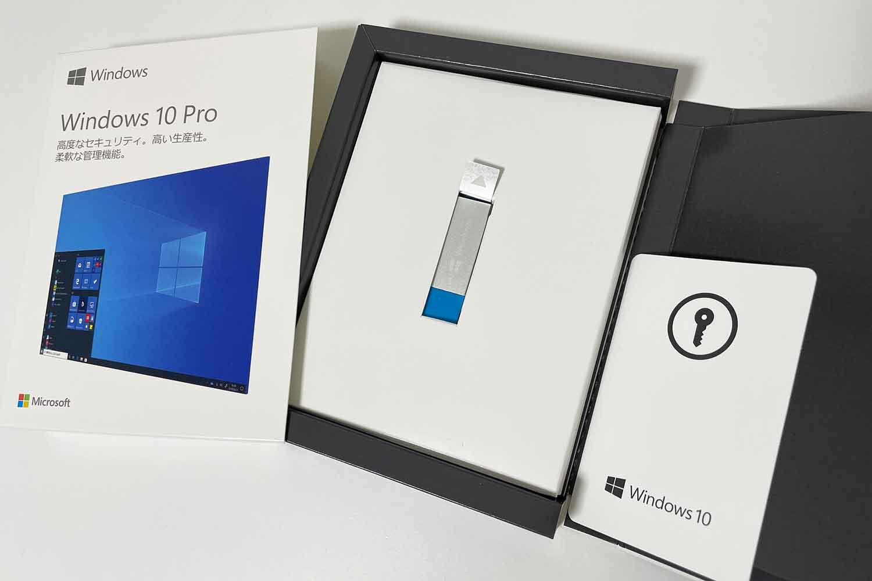 OS Windows10 Pro 中身一式