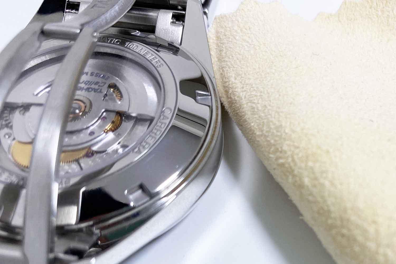 腕時計 汚れ セーム革