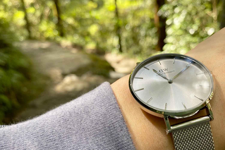 ダニエルウェリントン 腕時計 風景 写真
